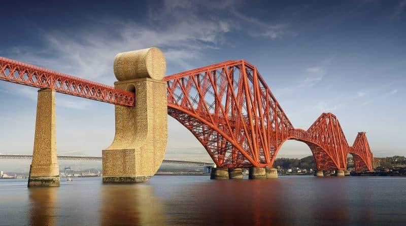 J Forth Rail Bridge